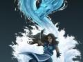 Водный дракон в исполнении Корры